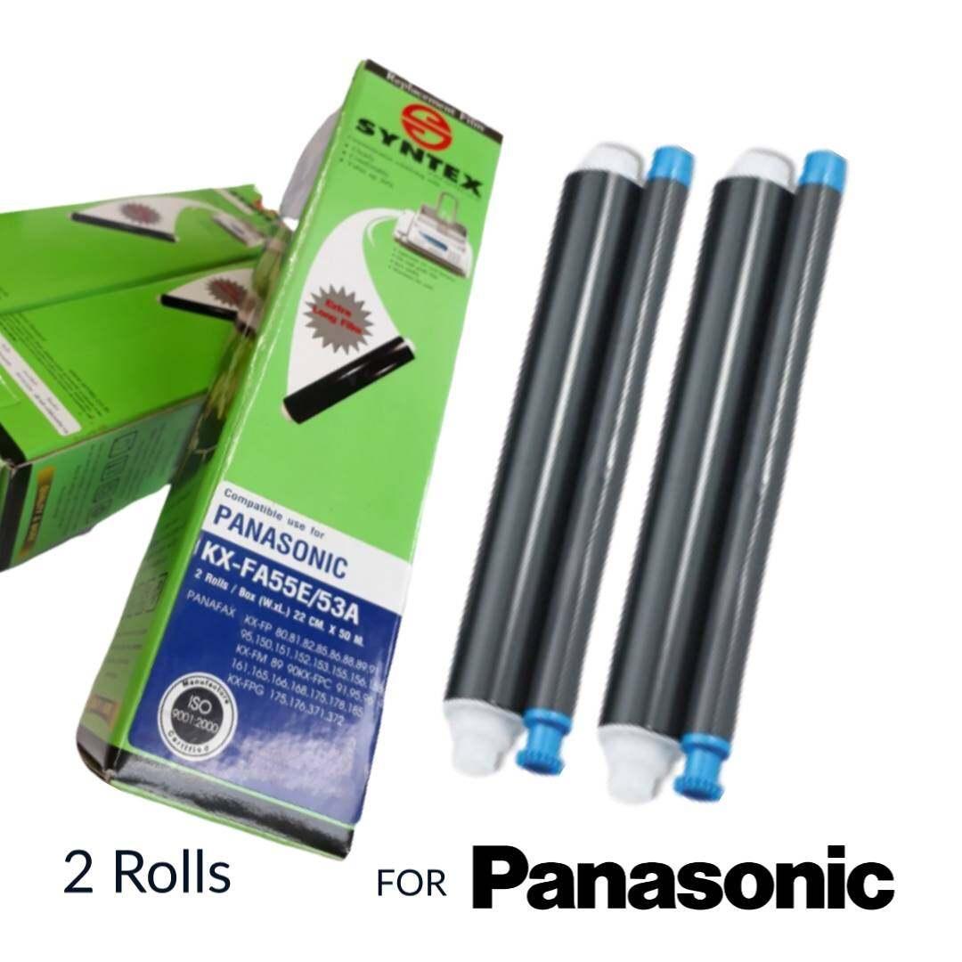 Film Fax Panasonic Kx-Fa55e/53a 2ม้วน/กล่อง.