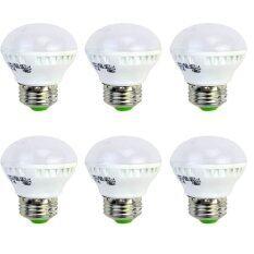 ซื้อ Rayton หลอดไฟ หลอดปิงปอง3W Led Bulb Light 220V With E27 Base White 6Pcs ออนไลน์