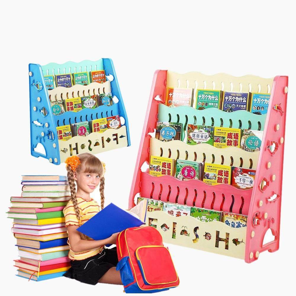 แนะนำ ชั้นวางหนังสือเด็ก ชั้นวางหนังสือ 3 ชั้น4 ชั้น
