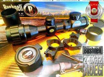 กล้องสโคปติดปืน Bushnell 2 6x32AOEG [NEW2020] *ตั้งง่าย เล็งไว ใช้งานสะดวก!!