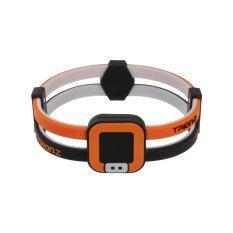 โปรโมชั่น สร้อยข้อมือ Colantotte Duo Loop สร้อยข้อมือแม่เหล็กบรรเทาอาการปวดข้อมือ แขน และบ่า Black Orange ถูก
