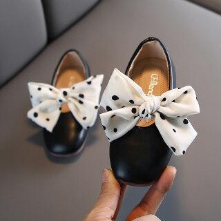 2021 Mùa Xuân Mới Giày Dép Trẻ Em Gái Giày Đế Mềm Cung Công Chúa Giày Thời Trang Giày Đậu Triều thumbnail