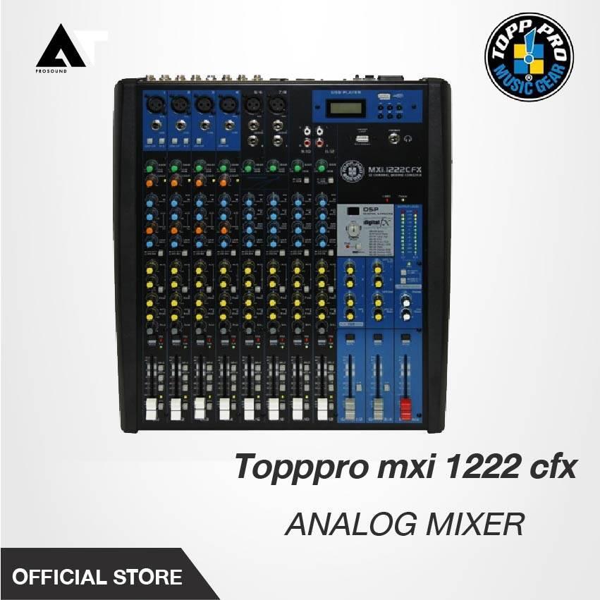 มิกซ์เซอร์อนาล็อก TOPPPRO รุ่น MXI-1222CFX