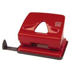 ส่วนลด สินค้า Sax เครื่องเจาะกระดาษ Elegant L รุ่น 406 Red