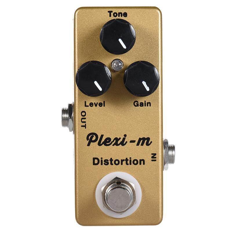 Mosky Plexi-M Đàn Guitar Điện Biến Dạng Tác Dụng Bàn Đạp Phần Guitar Vỏ Bằng Kim Loại True Bypass