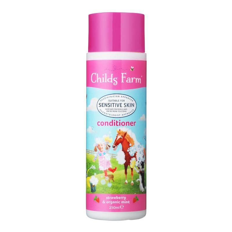ชายด์ ฟาร์ม ครีมนวดผม 250 มล. (Childs Farm conditioner, strawberry & organic mint)