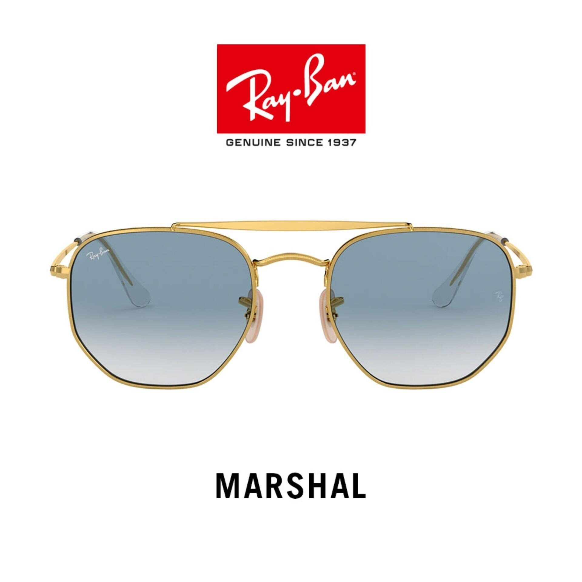 Ray-Ban Marshal - Rb3648 001/3f  Size 54 แว่นตากันแดด.