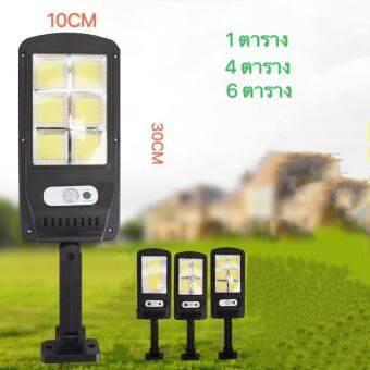 LED  Solar lights ไฟสปอตไลท์ กันน้ำ ไฟ Solar Cell ใช้พลังงานแสงอาทิตย์ โซลาเซลล์ Outdoor Waterproof Light