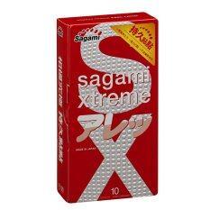 โปรโมชั่น Sagami ถุงยางอนามัย รุ่น Xtreme Feel Long 10 ชิ้น Sagami Original ใหม่ล่าสุด