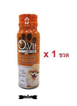 O3Vit Dietary Supplement for dog อาหารเสริมสำหรับสุนัข แบบน้ำ 50ml-