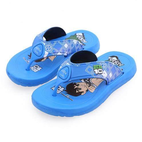 แอ๊ดด้า รองเท้าแตะเด็ก รุ่น 51M07-B ลายเบนเทน สีฟ้า ขนาด 1