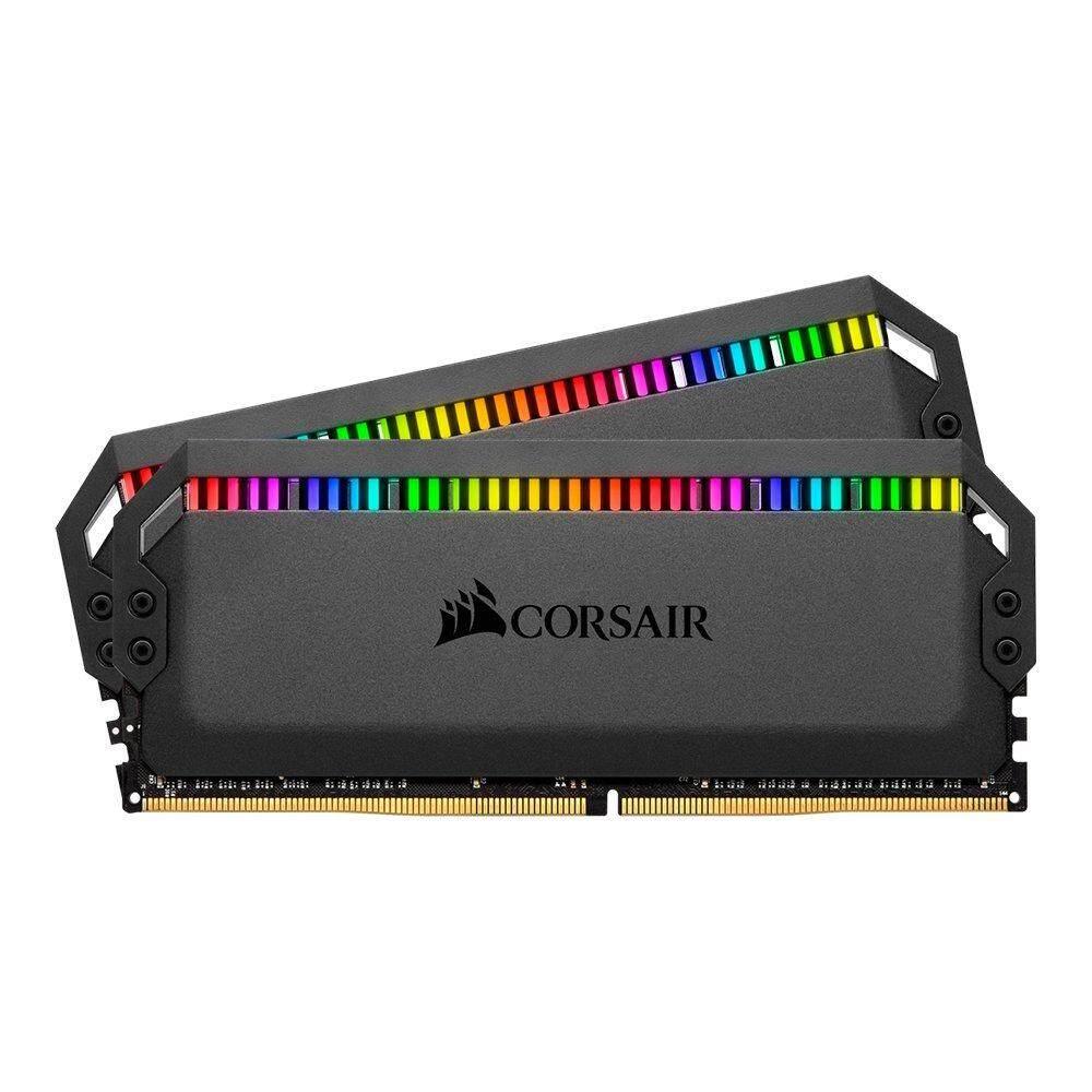 32GB (16GBx2) DDR4/3000 RAM PC (แรมพีซี) CORSAIR DOMINATOR PLATINUM RGB (CMT32GX4M2C3000C15)