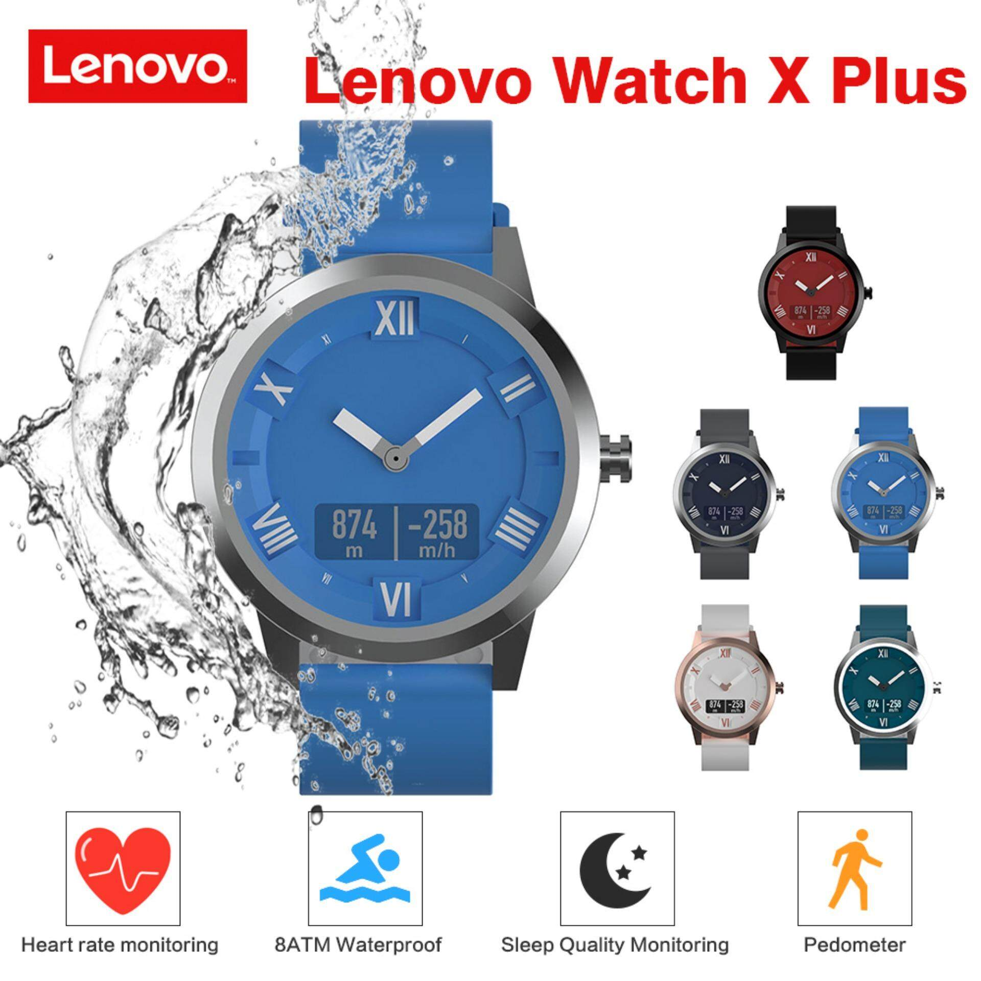 80m Waterproof Original Lenovo Watch X Plus 8atm Waterproof 45