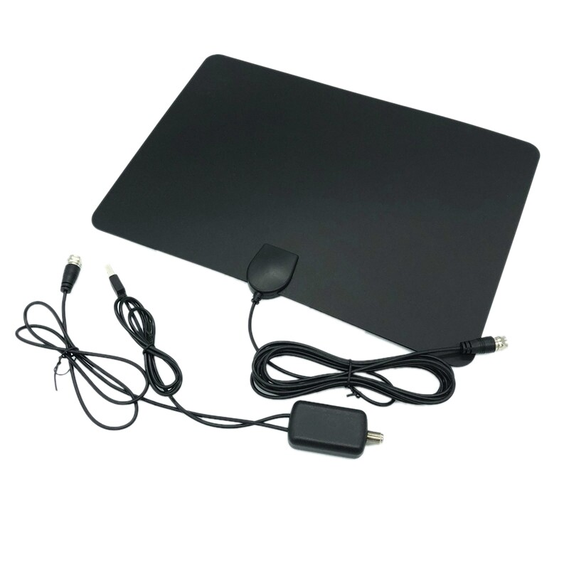 Siêu Tiết Kiệm Khi Mua 960 Miles TV Aerial Indoor Amplified Digital HDTV Antenna 4K HD DVB-T Freeview TV For Local Channels Broadcast Home Television
