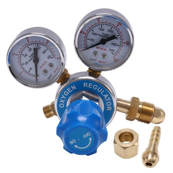 Argon Oxygen/Acetylene Regulator Reducer Mig Flow Meter Pressure Gas Solid Brass Welding Fit Gas Torch Cutting