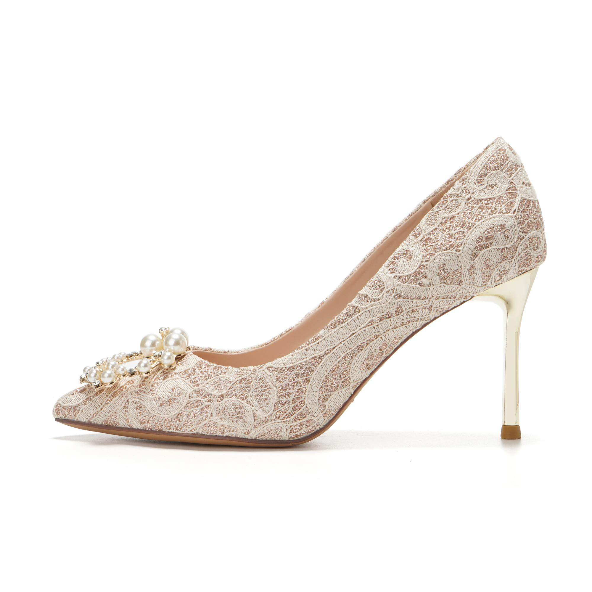 Wedding Shoes Women Flat 2019 New Style With Wedding Dress For