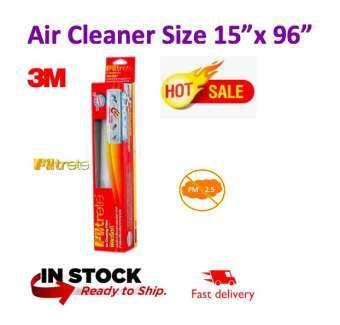 (พร้อมส่ง สินค้าโปรโมชั่น) 3M Filtrete ฟิลทรีตท์ 15 X 96 นิ้ว แผ่นดักจับสิ่งแปลกปลอมในอากาศ Room Air Conditioner Filter แผ่นกรองอากาศ 3M แผ่นกรองแอร์ แผ่นดักจับฝุ่น-