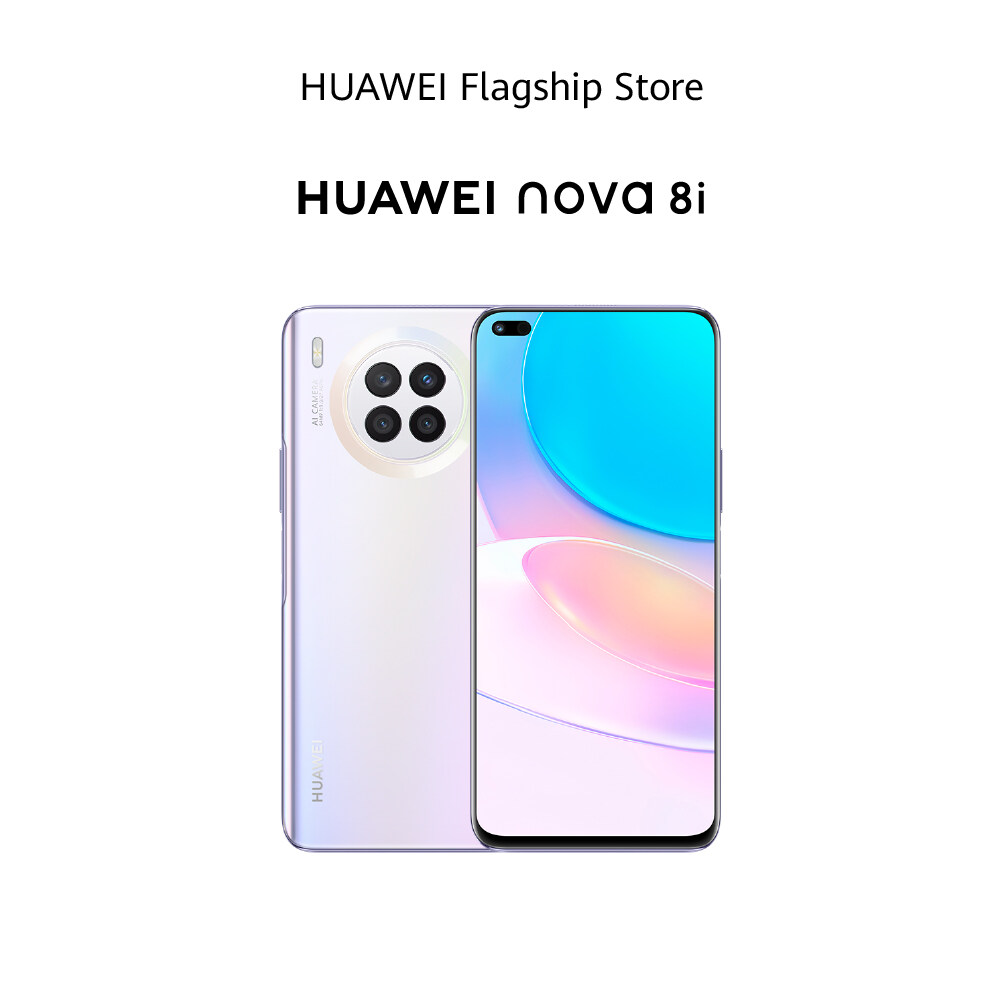 HUAWEI nova 8i มือถือ | Pre-Order จัดส่งสินค้าวันที่ 23 กรกฎาคม 2564 ชาร์จไวด้วย HUAWEI SuperCharge 66 W หน้าจอ HUAWEI Edgeless Display 6.67 นิ้ว ร้านค้าอย่างเป็นทางการ