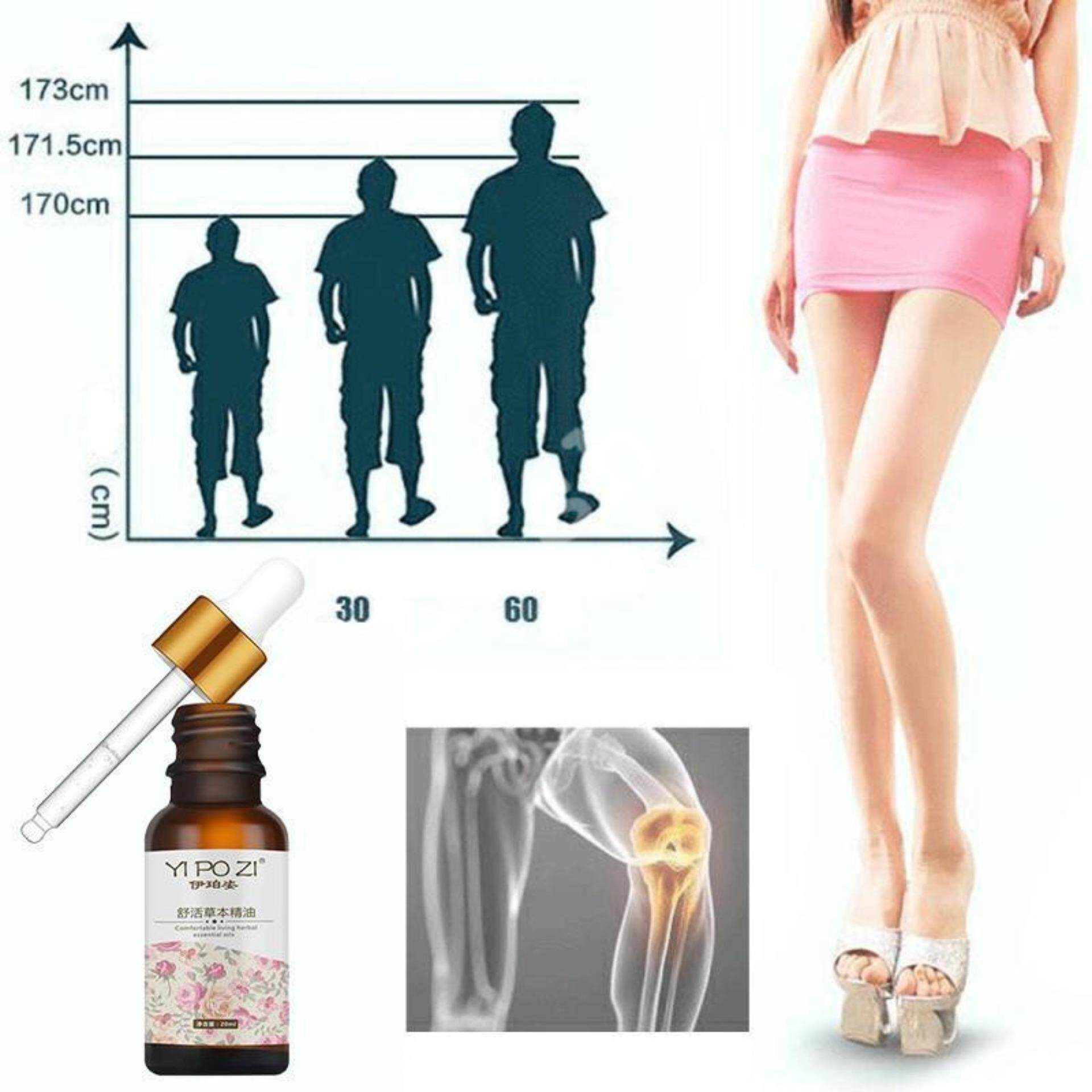 【Free gift】Herbal Height Natural Bone Growth Essential Oil Body Grow Taller Soothing Foot Health Care Promot Bone Growth Increasing Height 20ML