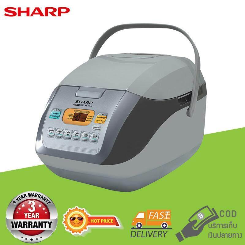 SHARP หม้อหุงข้าวคอมพิวเตอร์ไรซ์ ขนาด 1.8 ลิตร รุ่น KS-COM18
