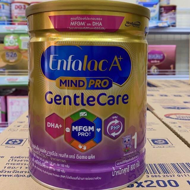 โปรโมชั่น Enfalac A+ mind pro ( Gentle Care ) แรกเกิดถึง 1 ปี ขนาด:1600 กรัม
