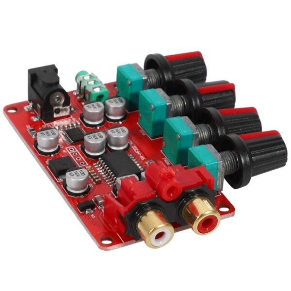 PT2315E Tone Board Preamplifier Tweeter Bass Volume Control Preamp Audio Processor for Amplifier Board Home Theater