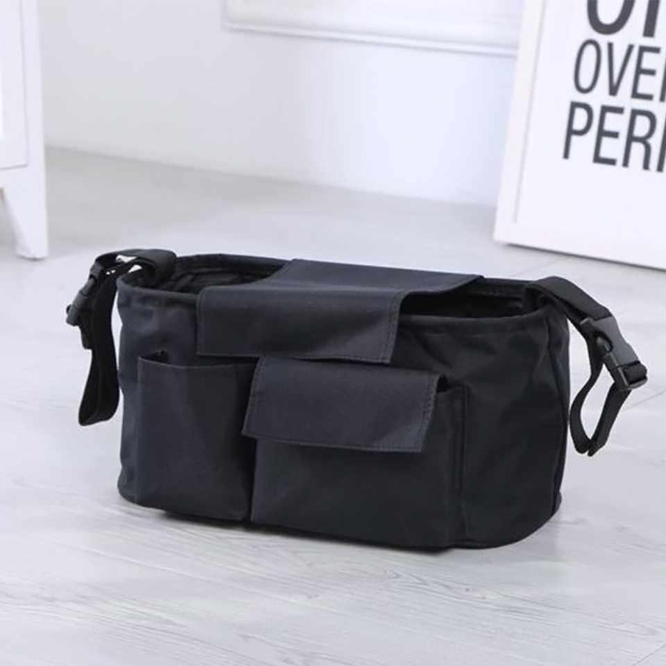 กระเป๋าสำหรับเก็บของสัมภาระติดรถเข็นเด็ก.