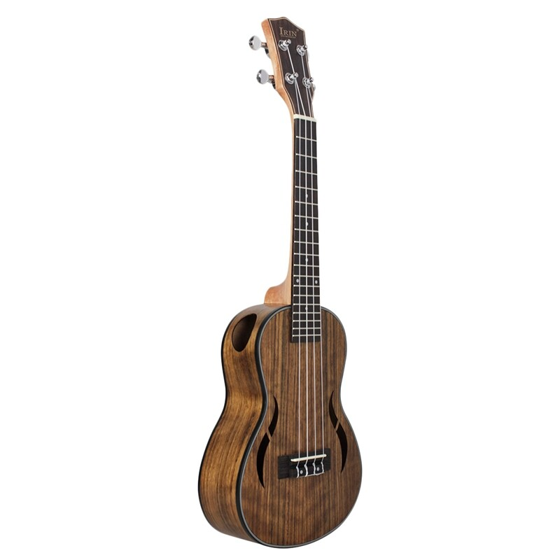 Irin Tenor Ukulele 26 Inch Walnut Wood 18 Fret Acoustic Guitar Ukelele Mahogany Fingerboard Neck Hawaii 4 String Guitarra