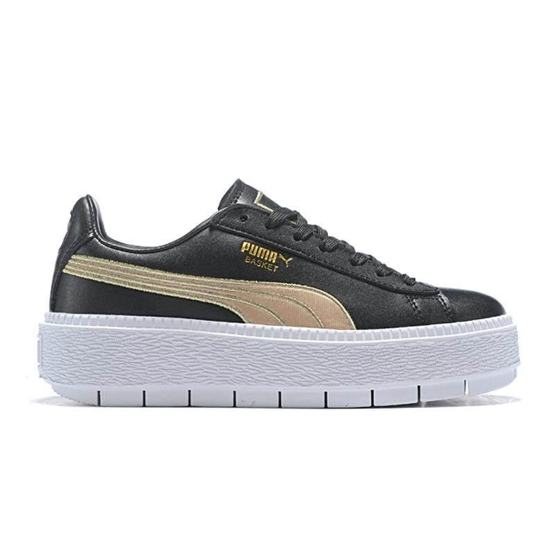 Puma PLATFORM TRACE Women's Four Generation Rihanna Classic Badminton Shoes Skateboard Shoes Platform shoes