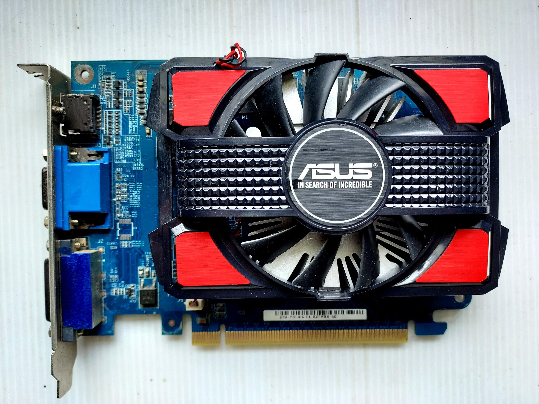 การ์ดจอ Asus Gt630 2g Ddr3 (128bit) ใช้งานดีีครับ.