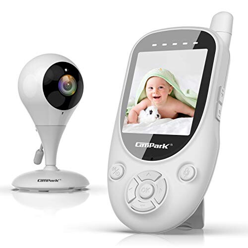 Campark Video Baby Monitor with Camera Digital Cam with Infrared