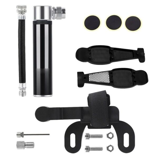 Hand Mini Bicycle Pump Tire Air Inflator Valve Ball Needle Hose MTB Accessories Portable Bike Tire Pump