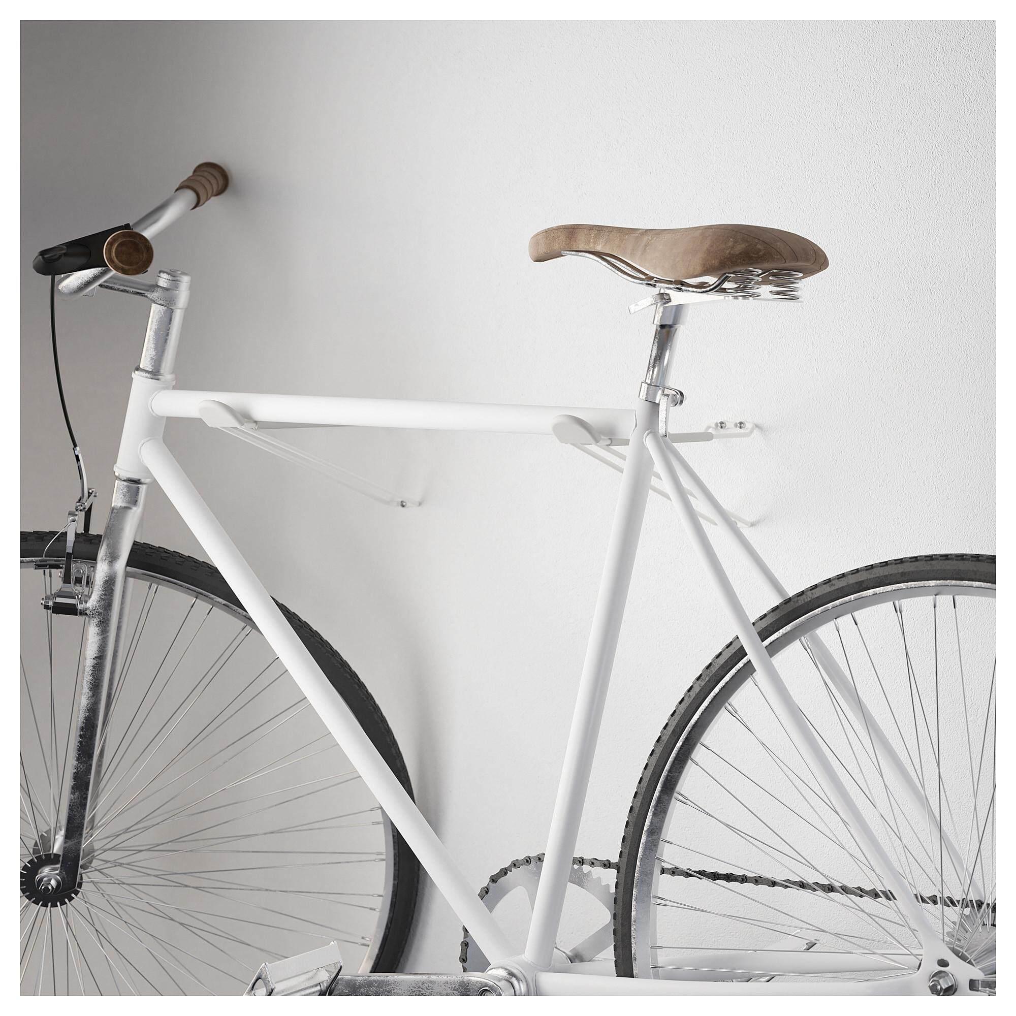 ราคาถูก SkrÄll สเครลล์ ตะขอ ในร่ม/กลางแจ้ง ใช้แขวนจักรยาน บันได หรือเก้าอี้ เพื่อเก็บของให้เป็นระเบียบ By Vvs.