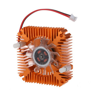 PC Computer Laptop CPU VGA Video Card 55mm Cooler Cooling Fan Heatsink thumbnail