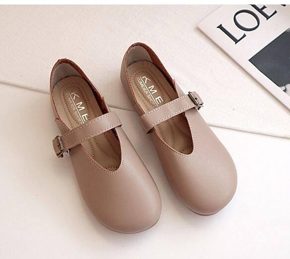 รองเท้าสายคาด Kuma มี2สี พร้อมส่งจากกทมค่ะ.