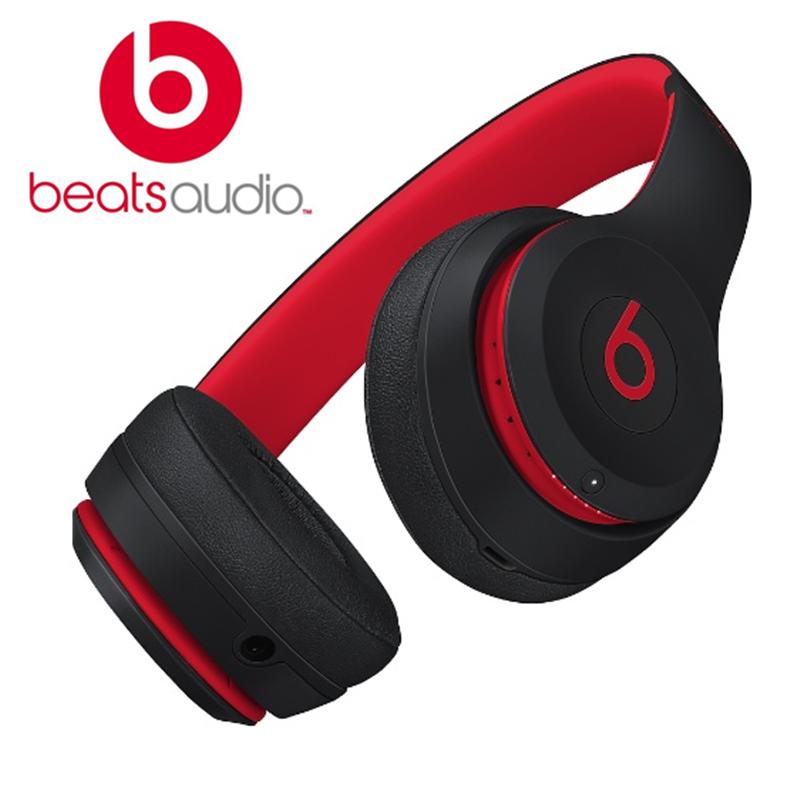 2020ใหม่ของ�ท้ Beats _ Solo3ไร้สายบลูทูธ-หูฟังสีดำสี�ดง BTS-MRQC2PA/ขาย
