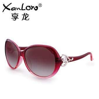 แว่นกันแดดหญิง 2020 ใหม่โพลาไรซ์แว่นกันแดดหญิงน้ำแบบเดียวกับดาราหน้ารูปกลมป้องกันรังสี UV จากแสงแดดดวงอาทิตย์แว่นตาหญิง