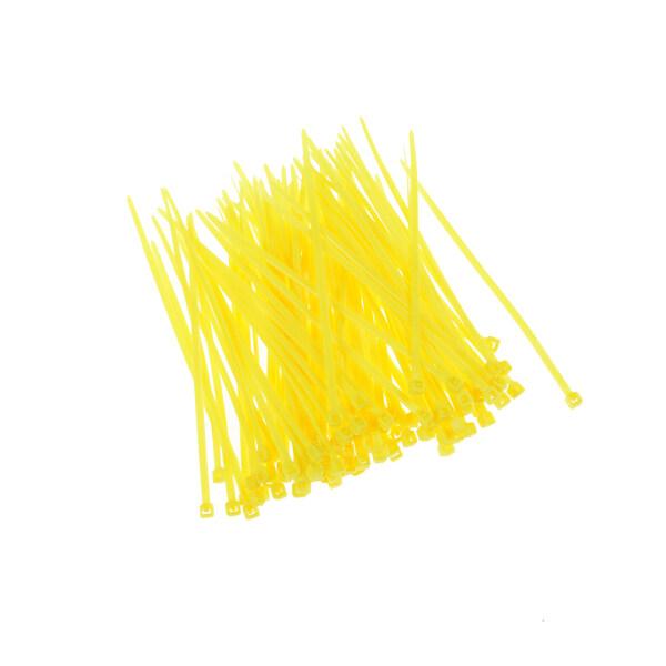 CSPP , 100 Cái Dụng Cụ Sắp Xếp Dây Cáp Nhiều Màu Bằng Nhựa Nylon 3X100Mm Dây Buộc Dây Kéo