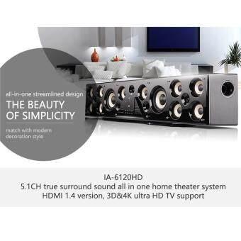 Mastersat Ch5.1 3D Surround & Dolby Home Theater Bluetooth  Sound Bar (สีดำ)