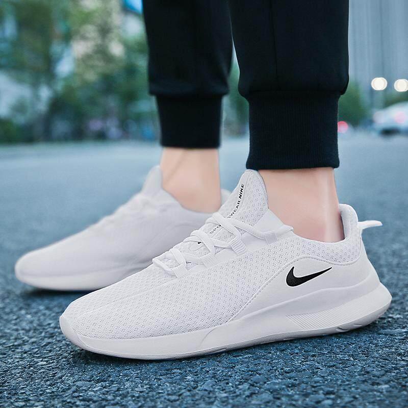 Nike_VIALE_Run 5ของแท้ น้ำหนักเบารองเท้าวิ่งลำลอง รองเท้ รองเท้าลำรองเท้าวิ่งสำหรับผู้ชายและผู้หญิง