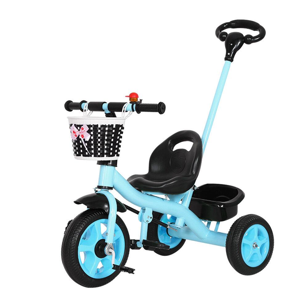 ซื้อที่ไหน Baby-boo จักรยาน จักรยานเด็ก จักรยานสามล้อเด็กแบบพิเศษ ล้อ แข็งแรง วิ่งนิ่ม พร้อมตะกร้าใส่ของหน้าหลัง