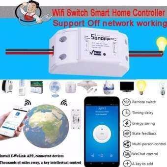รีวิว Sonoff Smart Wifi Switch DIY Remote Wireless Smart