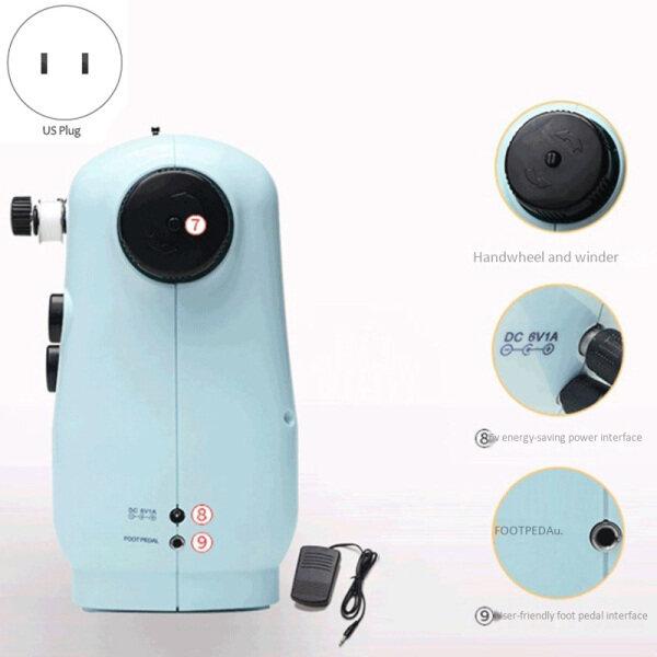 Bảng giá Household Multi-Function Sewing Machine Electric Micro-Sewing Machine Mini Sewing Machine US Plug Điện máy Pico