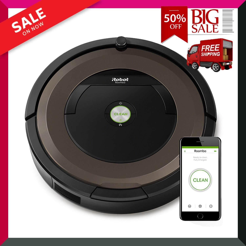 หุ่นยนต์ดูดฝุ่นอัจฉริยะ รุ่น Roomba 890 สี Pewter ความจุ 0.6 ลิตร Vacuum Cleaners : Roomba 890 Pewter Color Capacity 0.6 L สินค้าขายดี สินค้าคุณภาพ Premium วัสดุคุณภาพสูง ***ส่งฟรี***