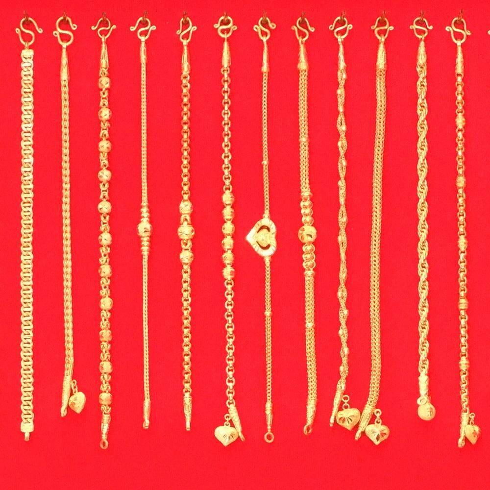 สร้อยข้อมืือ สร้อยข้อมือทอง สร้อยทองคำแท้ สร้อยทอง สร้อยข้อมือทอง สร้อยข้อมืือสองสลึง By Lungmongkol.