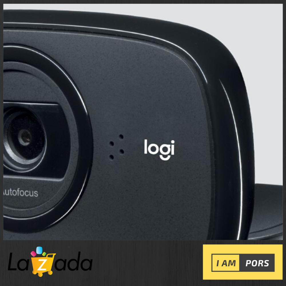 Logitech B525 Foldable Business Webcam กล้องเวปแคม กล้องสำหรับธุรกิจ ดีไซน์พับเก็บได้ และหมุน 360 องศา พกพาสะดวก รับประกัน 3 ปี เสียเปลี่ยนตัวใหม่.
