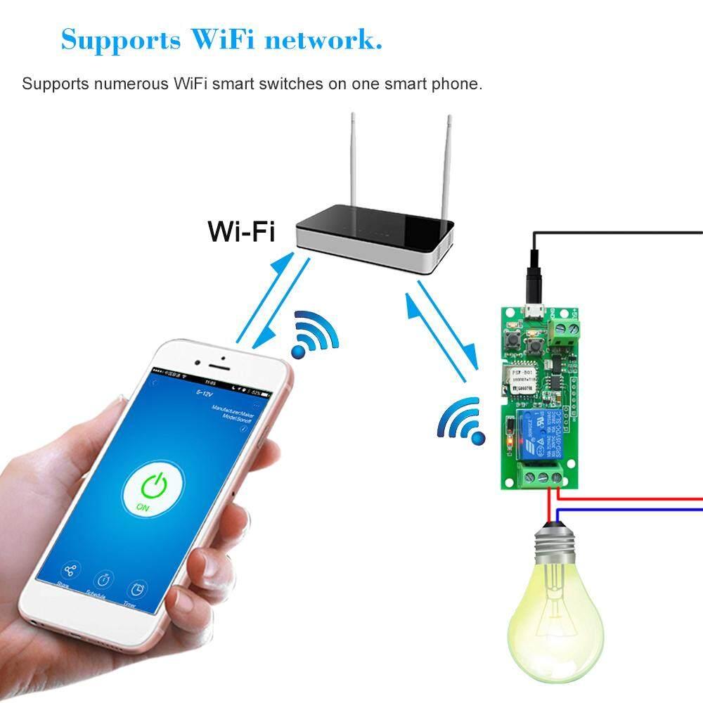 eWeLink USB DC5V Wifi Switch Wireless Relay Module Smart