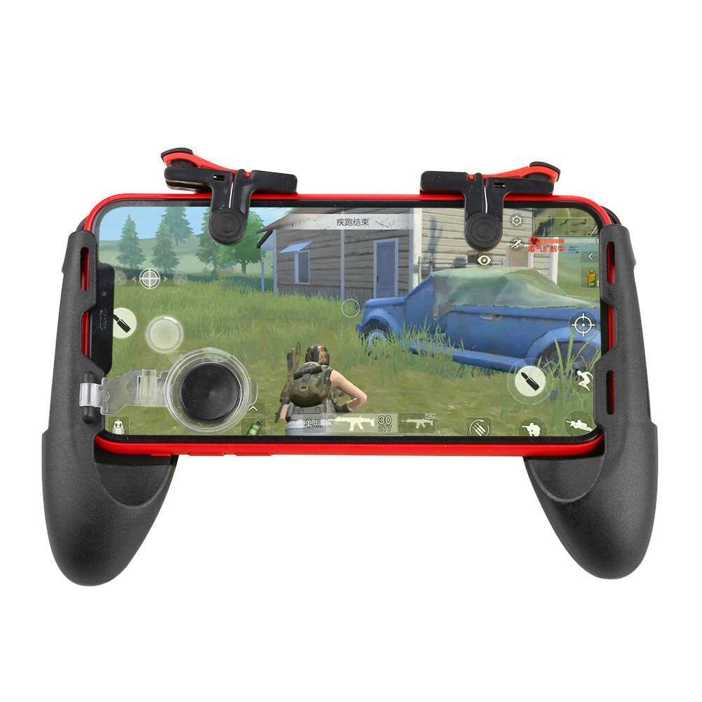 KET 3 in 1 Mobile Gamepad Controller Joystick Trigger Fire Button Key for  PUBG