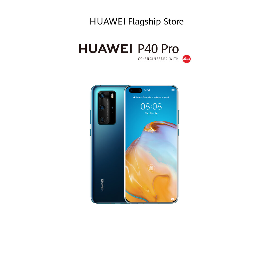 【Pre-order Huawei P40 PRO+ ตั้งแแต่วันที่ 4 - 26 Jun 2020】【ผ่อน 0% 10 เดือน】หน้าจอ 6.58 / กล้องหลัง 5 ตัว / กล้องหน้า 1 ตัว / RAM 8 GB / ROM 512 GB