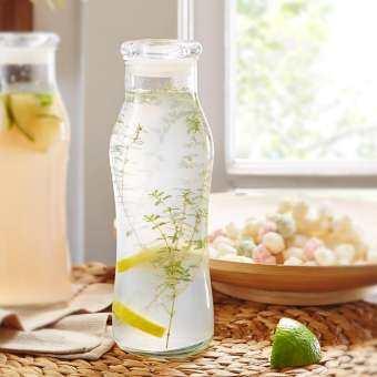 【 2 ใบ 】Libbey USA ขวดน้ำ ขวดแก้ว ขวดสูญญากาศ ขวดนม Bottle